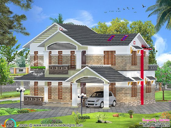 2264 square feet double floor house