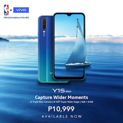 Capture wider moments with Vivo Y15