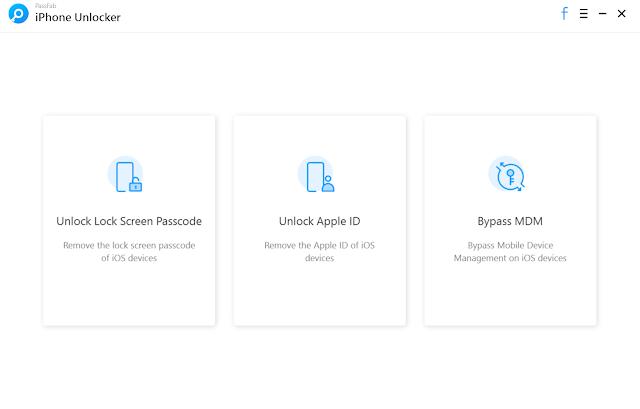 برنامج PassFab iPhone Unlocker 2.2.8.12 كامل لفك باسورد الايفون المغلق