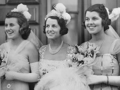 Rosemary Kennedy with her sisters Eunice and Kathleen before Rosemary was lobotomized and sent to an institution with no visits for 20 years