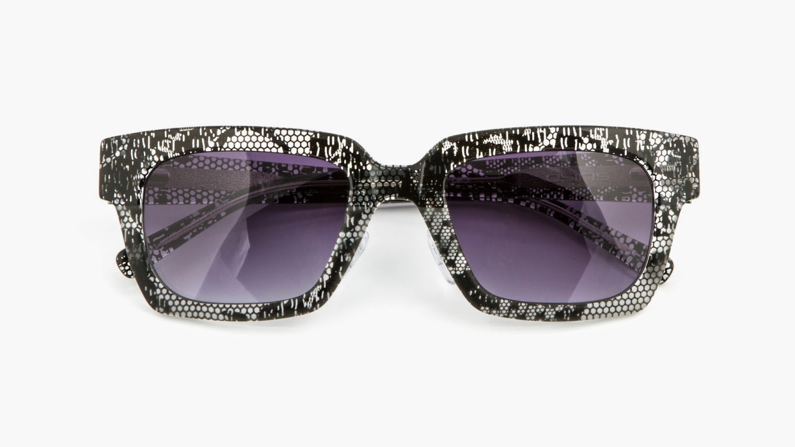 """6e7b82bfb7b9 """"I wanted to diversify from the original collection by using  nature-inspired textures to add an adventurous new dimension of touch and  feel to eyewear"""" ..."""