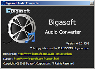 Bigasoft Adio Converter PRO 4.6.0 Full Version Incl. Serial