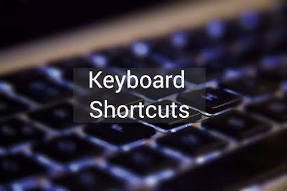 20 Shortcut Keyboard di Windows Yang Paling Sering Digunakan