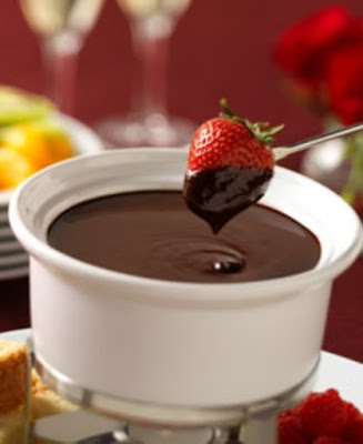 slow cooker chocolate fondue