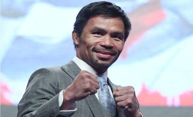 Manny Pacquiao points to the Philippine presidency in 2022