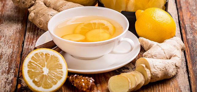 How to lose weight with ginger tea?