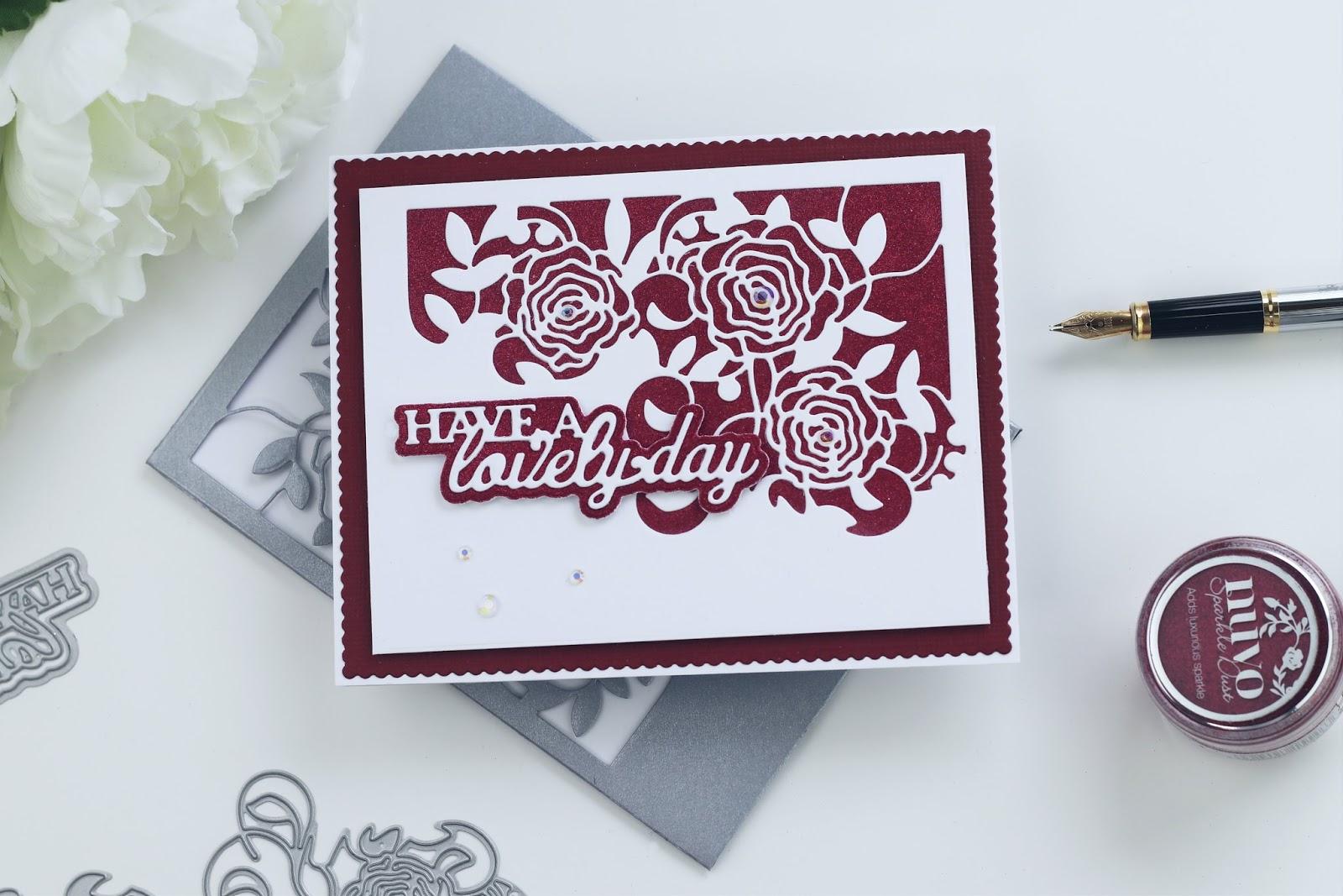 Tonic Studios Craft Kit 21 inspiration Video - Post | Floral