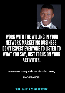 WHAT TO DO IF YOUR TEAM MEMBERS ARE NOT LISTENING TO YOU IN YOUR NETWORK MARKETING BUSINESS