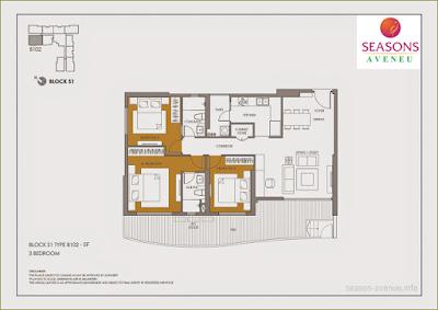 Mặt bằng căn hộ B102