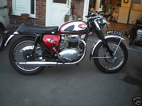 BSA Lightning Rocket motorcycle pictures