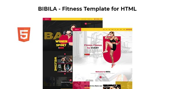 Best Fitness Template for HTML