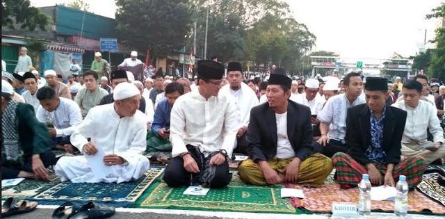 Sandi Tolak Beri Sambutan di Hadapan Jemaah Idul Adha, Alasannya Bikin Netizen Bangga