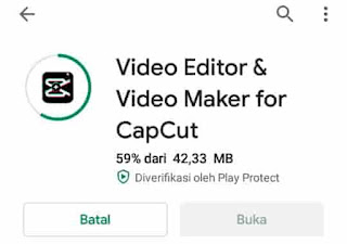 cara mengedit video di capcut
