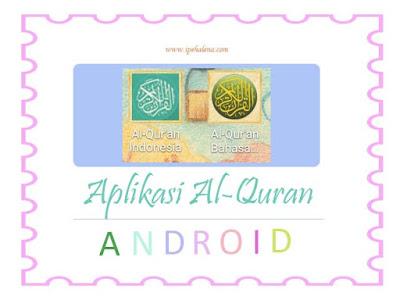 Aplikasi Al-quran perangkat Android