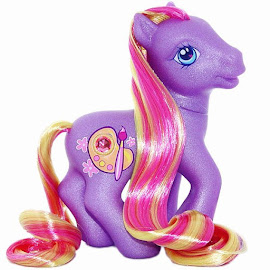 MLP Dibble Dabble Super Long Hair  G3 Pony