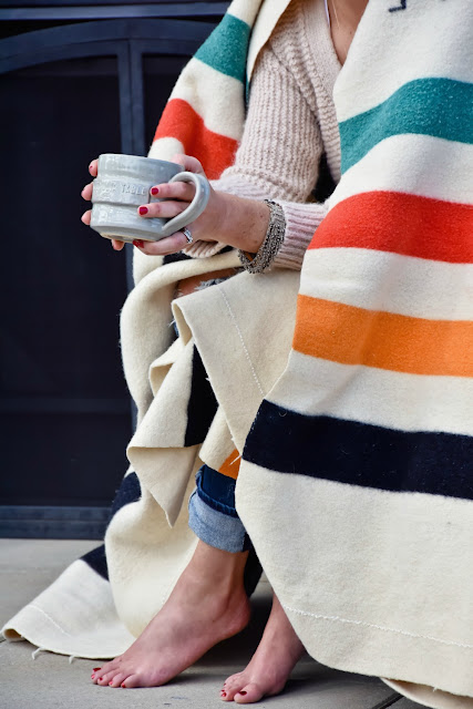 Pendleton point blanket