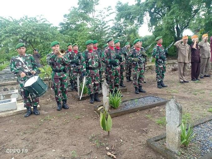 Pemakaman Militer Alam Pelda Purn Soelomo