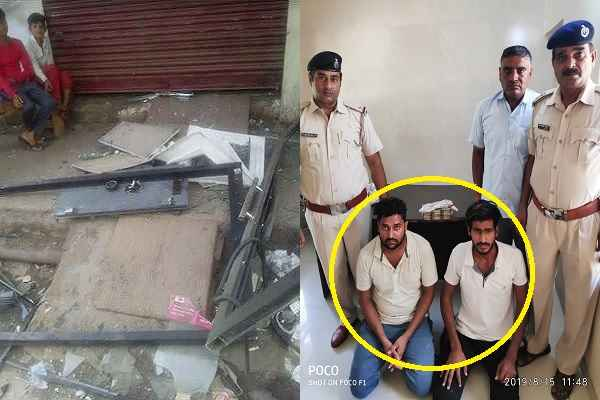 faridabad-sector-56-crime-branch-arrested-robber-fardeen-shakeel