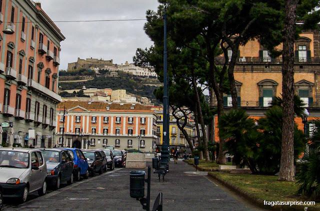 Castelo de Sant'Elmo, Nápoles, Itália