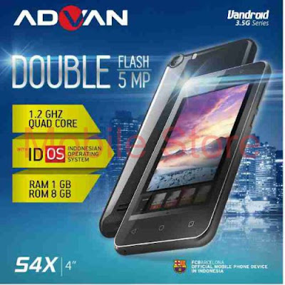 Harga dan Spek Advan S4X Terbaru 2015