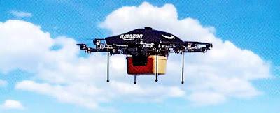 Amazon Primer entrega paquetes dron