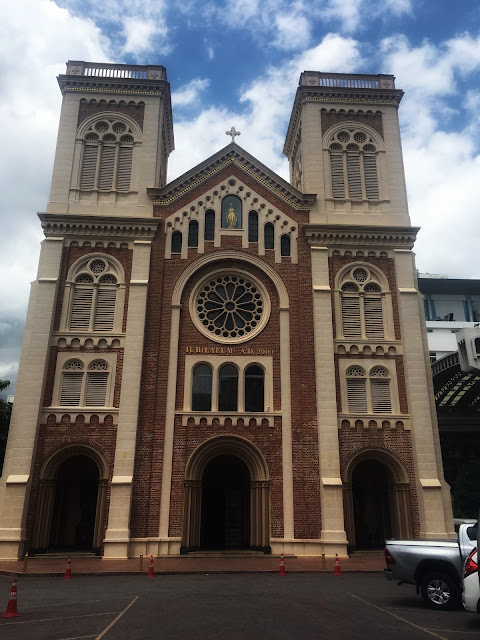 Assumption Cathedral looks like notre dame bangkok thailand
