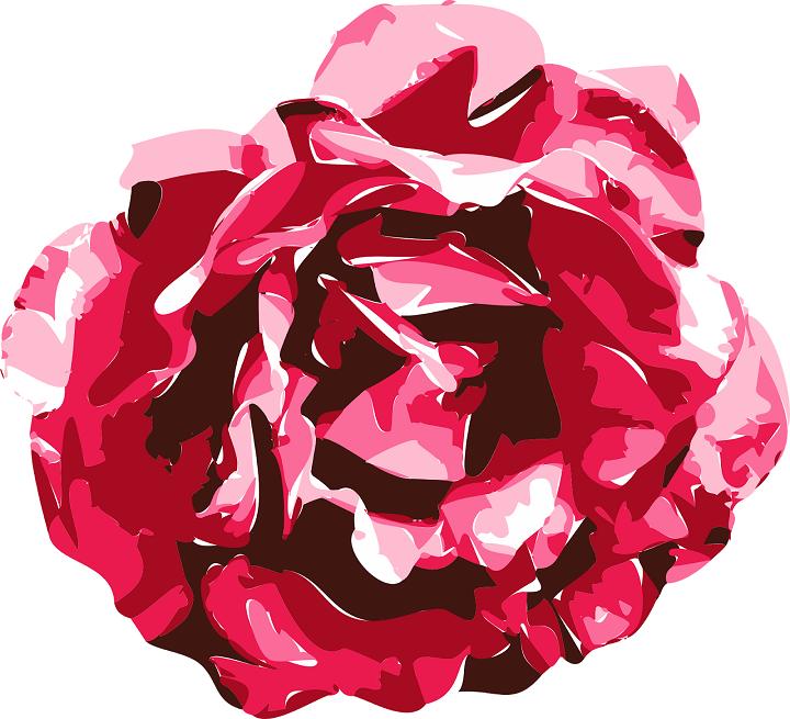 Bunga mawar vektor