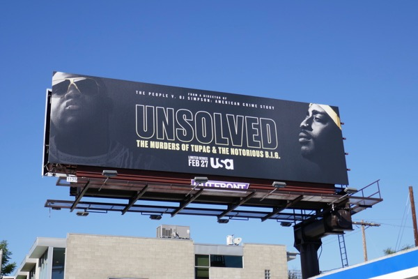 Unsolved murders Tupac Notorious BIG billboard