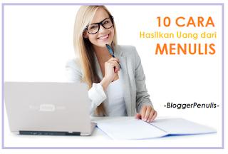 10 Cara Menghasilkan Uang dengan Menulis