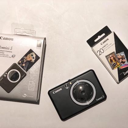 Canon ZoeMini S a máquina de fotografia instantânea que nos acompanha para todo o lado.