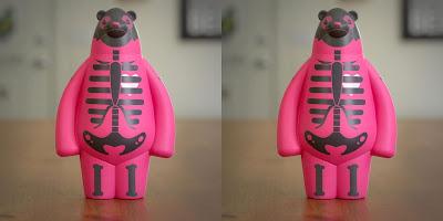 Bearly:Dead (Hot Hot Heat) Vinyl Figure by Bearly Available x Bimtoy