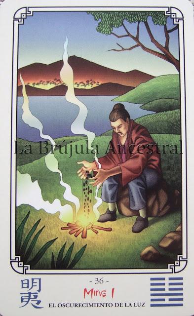 El Oráculo del I Ching: El oscurecimiento de la luz