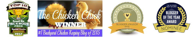 Awards & Recognition, The Chicken Chick®