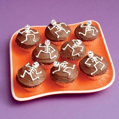Scrumptious Skeletons Cupcake Recipe