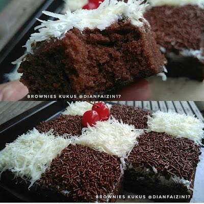 Resep Brownies Kukus Enak dan Sederhana Oleh Dian Rosdiana Lanesa