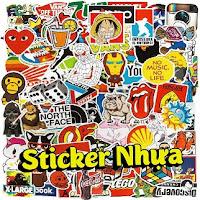 Sticker Nhựa dán xe máy