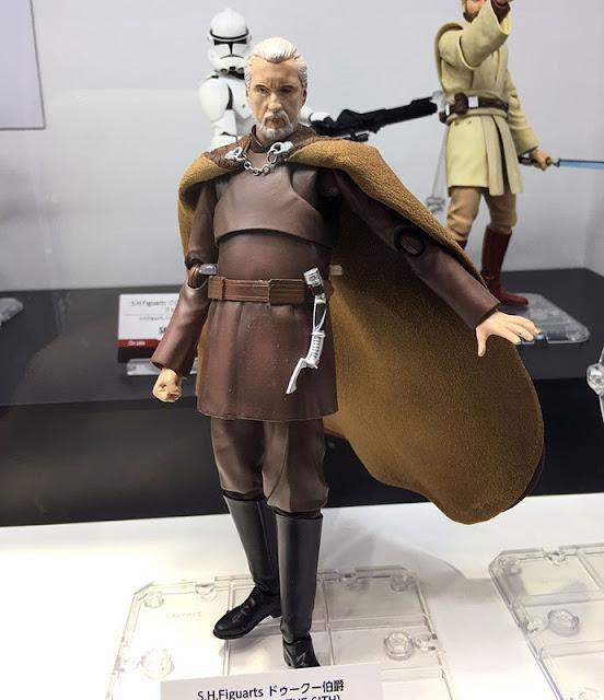 S.H.Figuarts Star Wars Ep.III Count Dooku