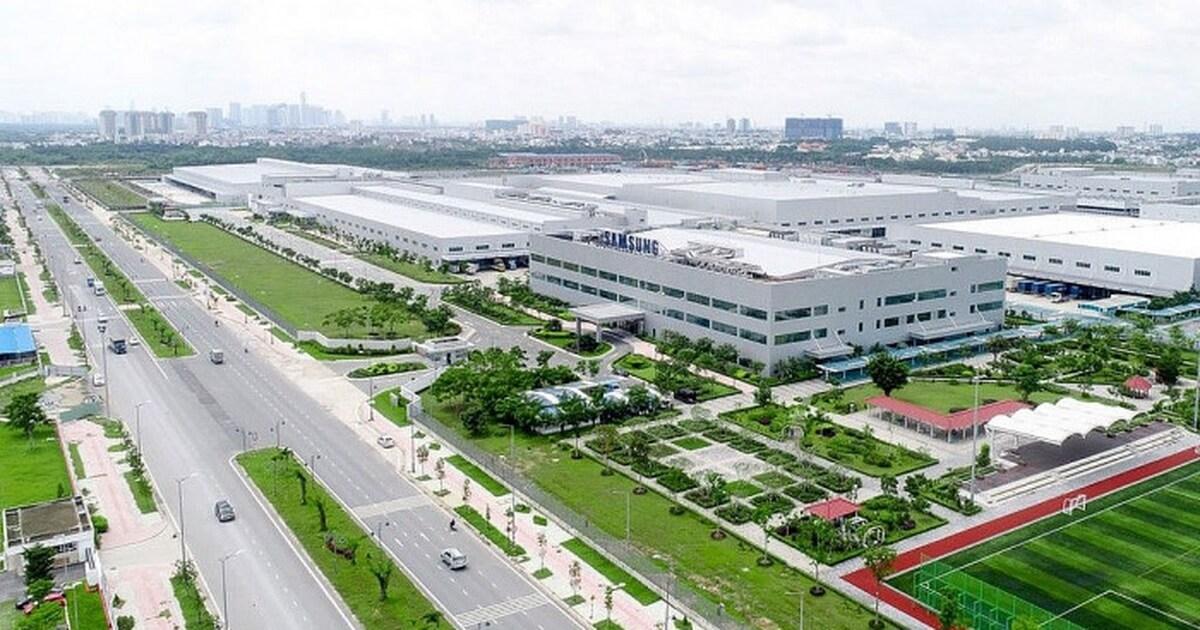 Bất động sản công nghiệp Sam Sung - Bắc Ninh