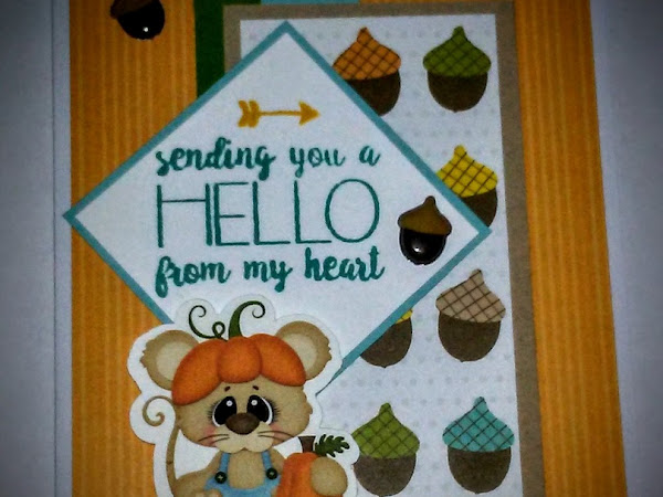 Send a Smile 4 Kids: Cute Fall Cards Challenge
