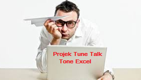 Projek Tune Talk Tone Excel