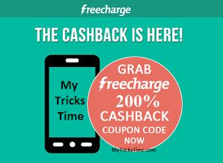 FreeCharge : Get 200% Cashback On Recharge of Rs.30 via Peoplekart