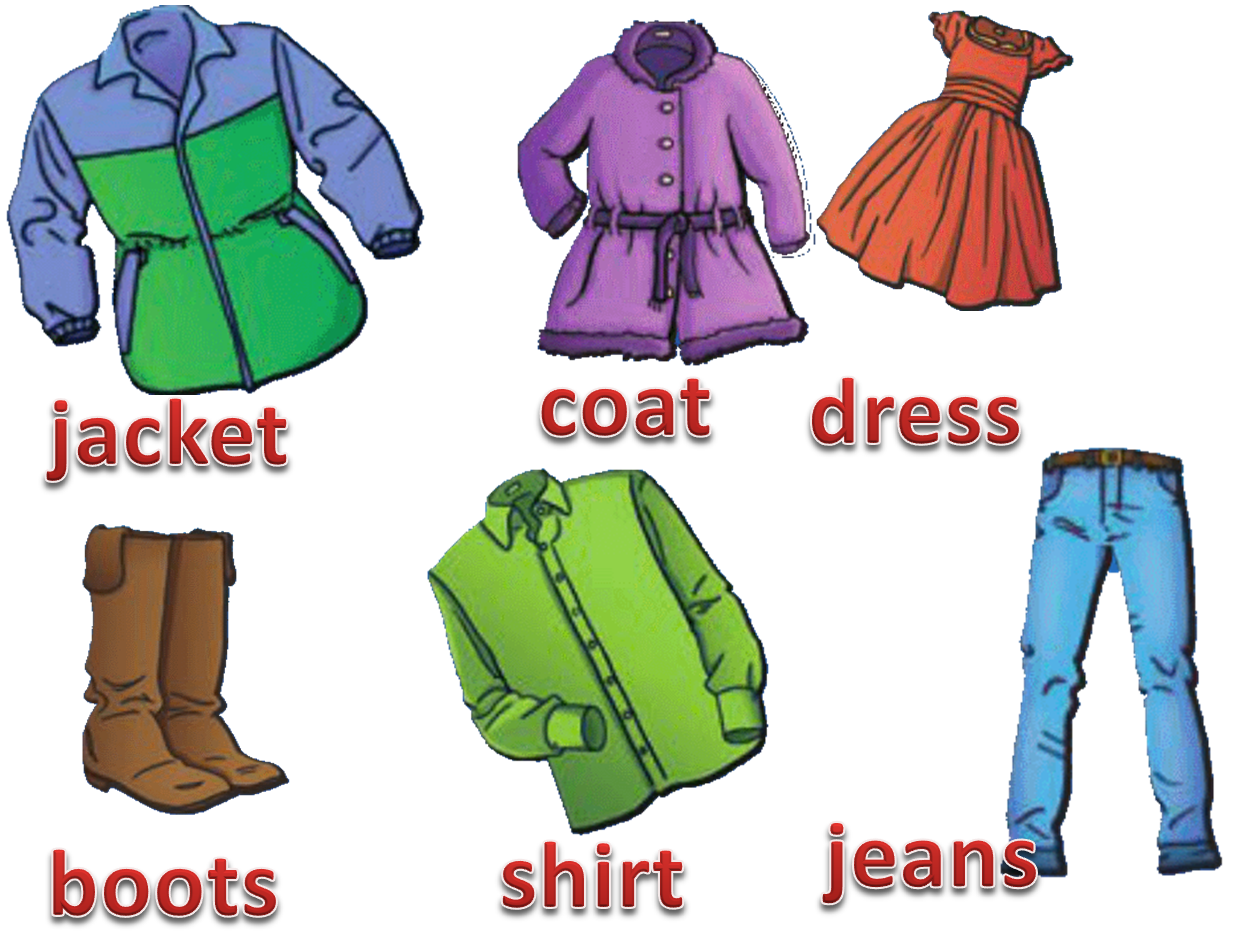 Join And Enjoy English Clothes 3