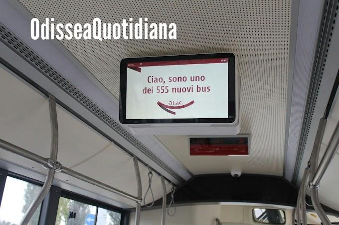 Roma, altri 40 nuovi bus Atac per potenziare le periferie