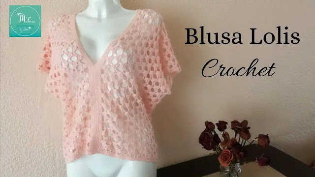 Blusa Lolis a Crochet