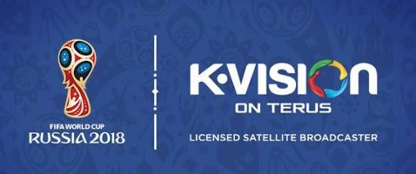 Paket Channel K Vision Piala Dunia 2018