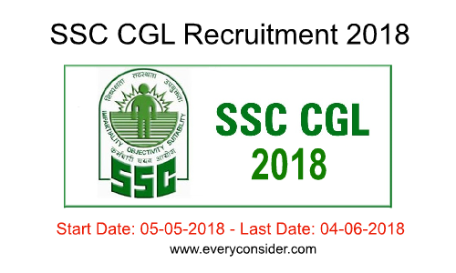 SSC CGL Recruitment 2018