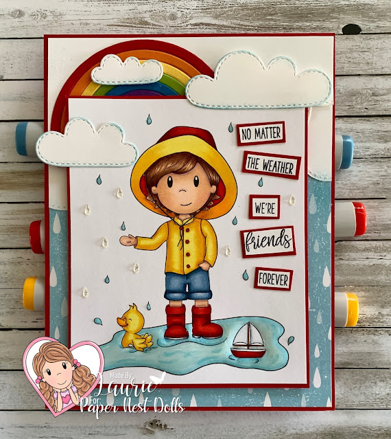 Rainy Day Owen Card