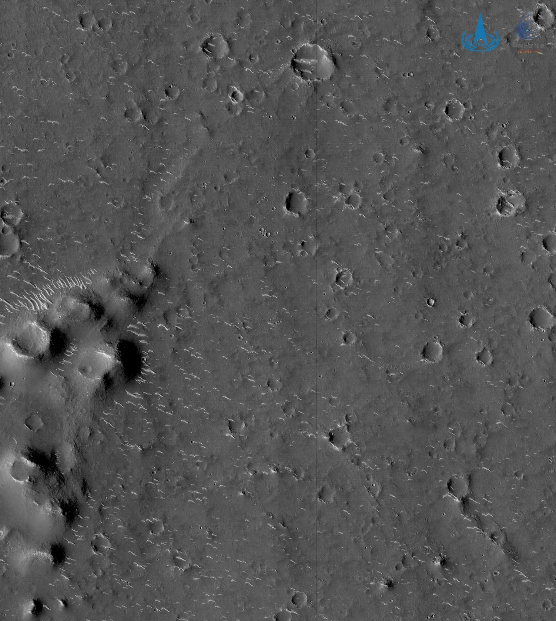 صور جديدة من كوكب المريخ.. المسبار الصيني Tianwen 1