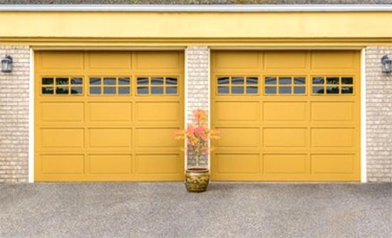 Painted Garage Doors