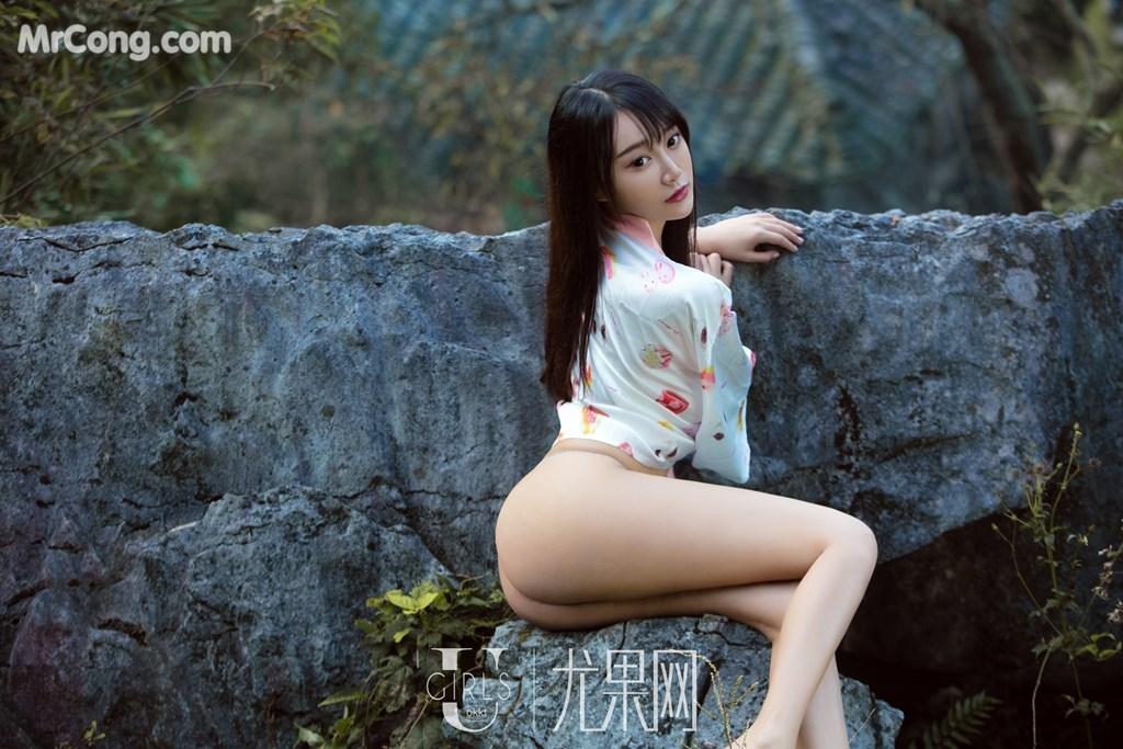 Image UGIRLS-U318-He-Jia-Ying-MrCong.com-001 in post UGIRLS U318: Người mẫu He Jia Ying (何嘉颖) (66 ảnh)